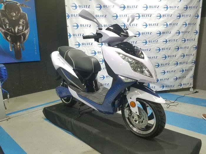קטנוע חדש לבליץ עם מנגנון החלפת סוללות