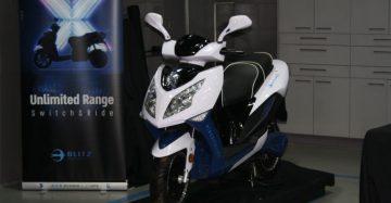 בליץ 3000X: לקטנוע הזה לא תצטרכו עמדת טעינה